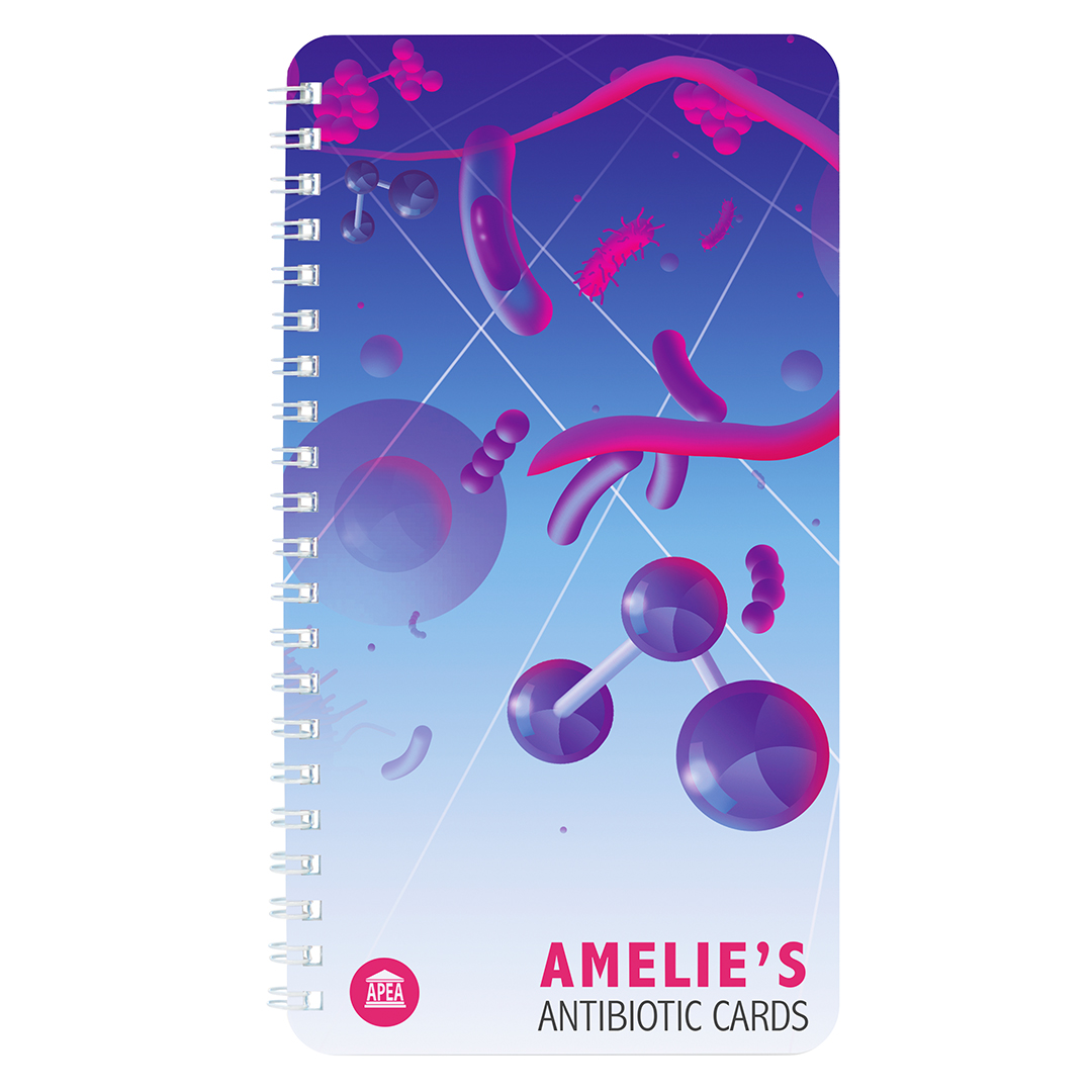 Amelie's Antibiotic Cards