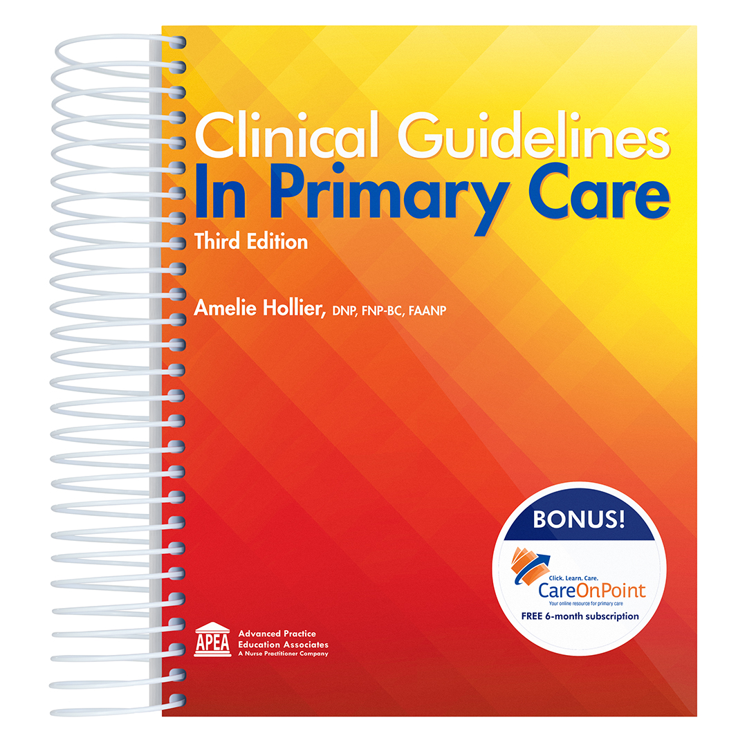 Clinical Guidelines in Primary Care, 3rd Edition
