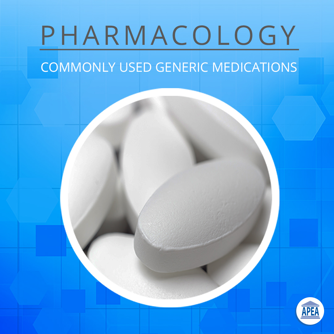 Commonly Used Generic Medications