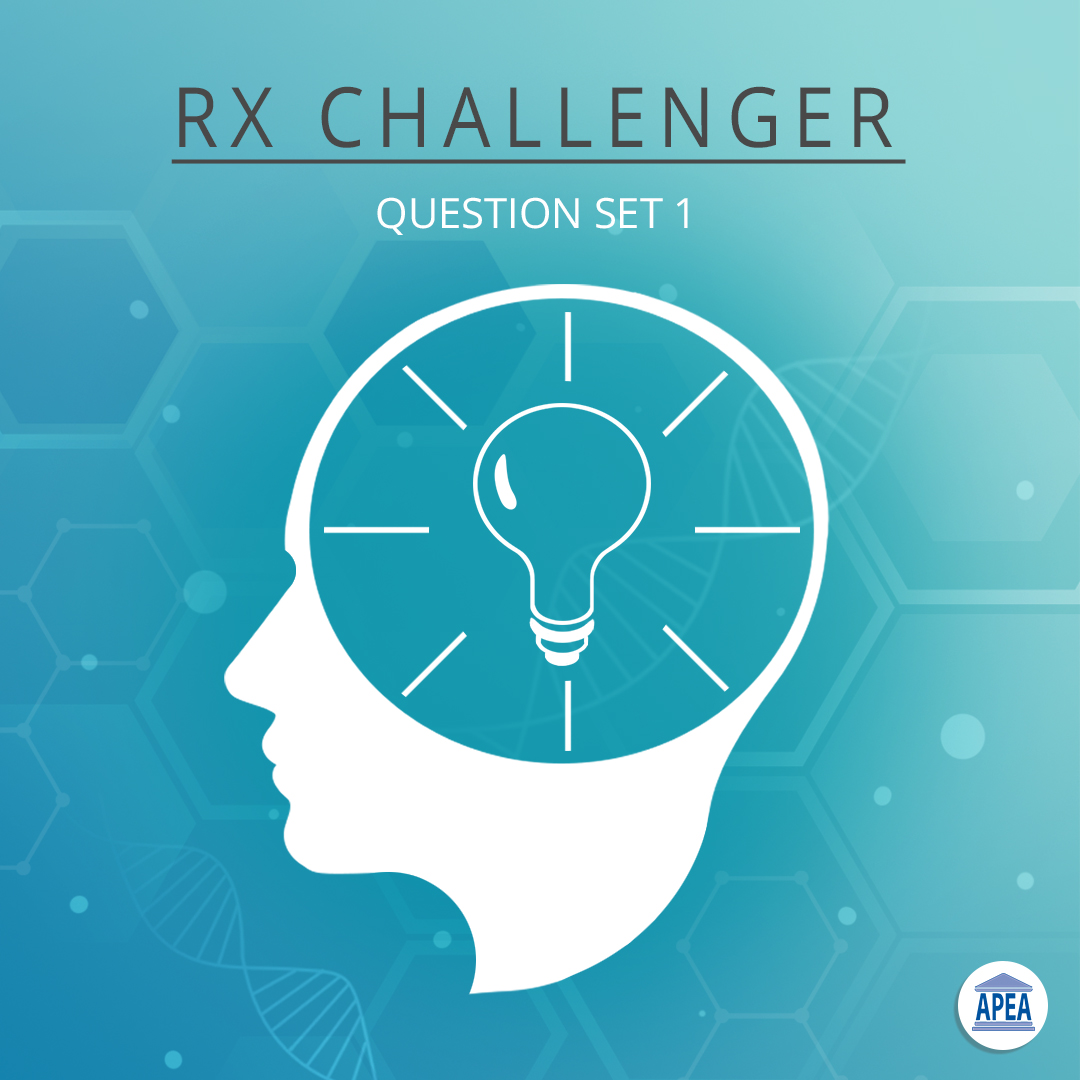 Rx Challenger: Pharmacology CE for NPs - Set 1