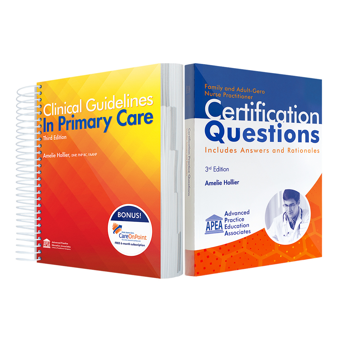 NP Student Bundle - Clinical Guidelines and Certification Practice Questions
